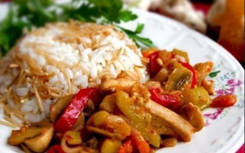 Турецкая кухня: Соте с куриц…