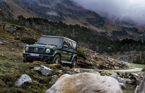 Возвращение легенды: новый внедорожник Mercedes-Benz