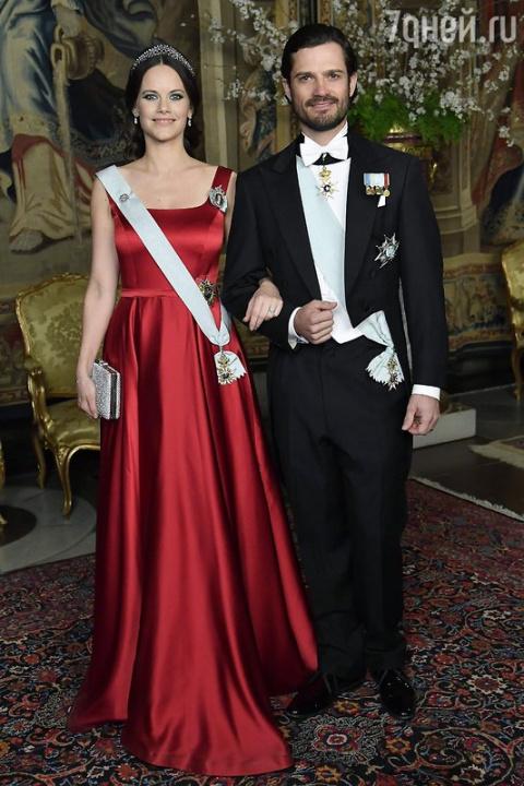 В шведской королевской семье…