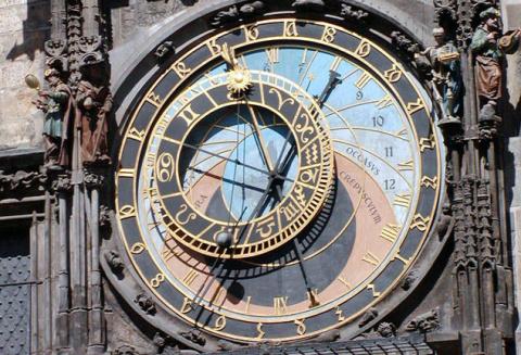 Едем в Прагу. Волшебные часы Праги