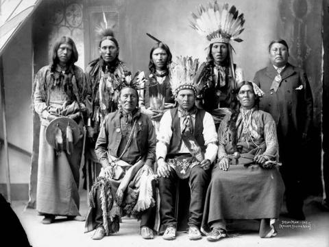 Индейцы никогда не стриглись…