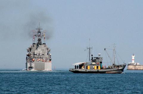 В НАТО заявили, что Россия направила в Сирию «весь Северный флот»