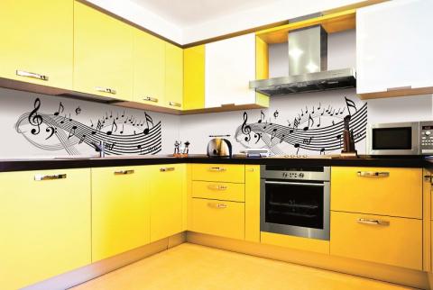 Потрясающая кухня желтого цв…