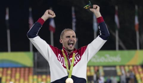 Названы лучшие спортсмены России