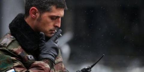 Жители Херсона потребовали от Порошенко присвоить Гиви звание Героя Украины