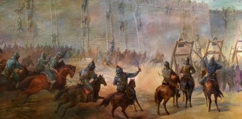 Как завоевание Багдада монго…