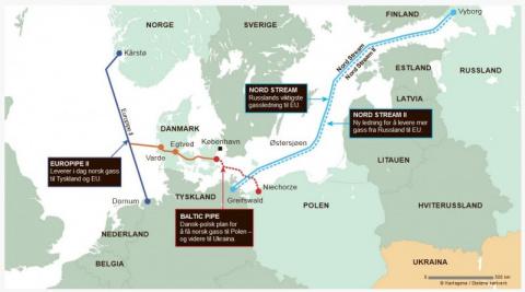 Норвегия будет помогать Путину в крупном, вызывающем споры проекте.