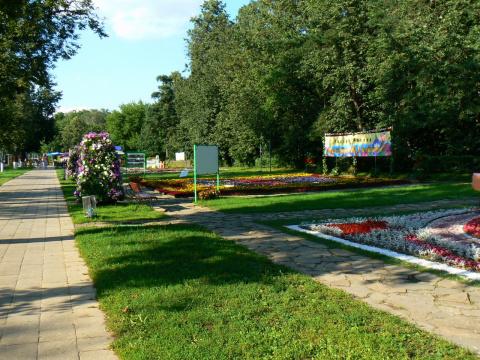 Выставка цветников