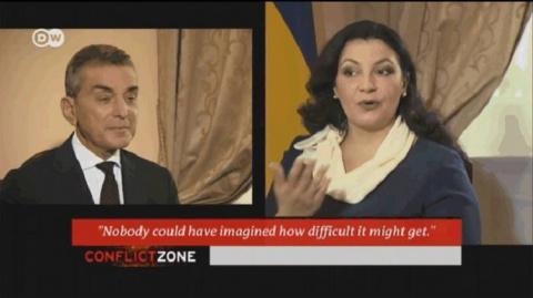Немецкий журналист взял жесткое интервью у вице-премьера Украины