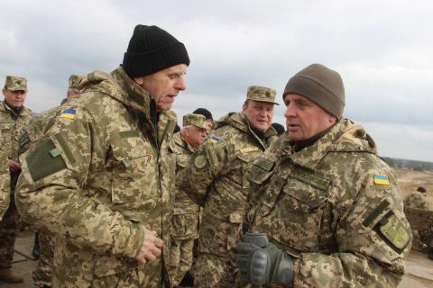 Умер украинский генерал, пла…