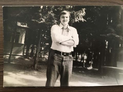 ~1978-1979 Наш вожатый Беляшов Саша
