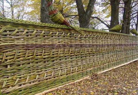 МАСТЕРИЛКА. Плетень для дачи