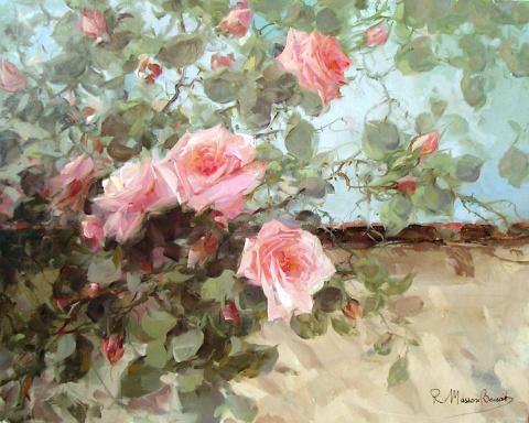 Чувство аромата: чудесные розы современного итальянского художника
