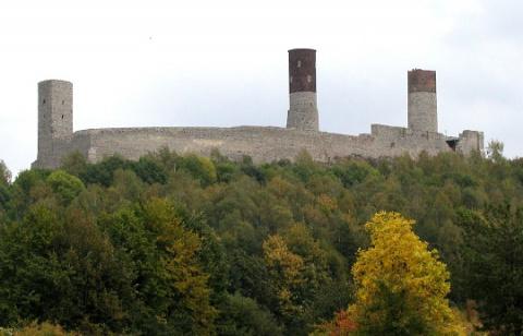 Хенцинский замок, Польша (Zamek w Checinach)