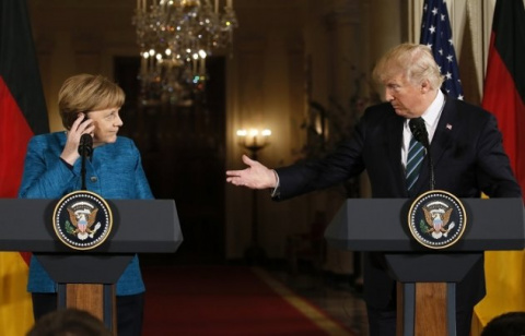 Трамп загнал Меркель в угол …