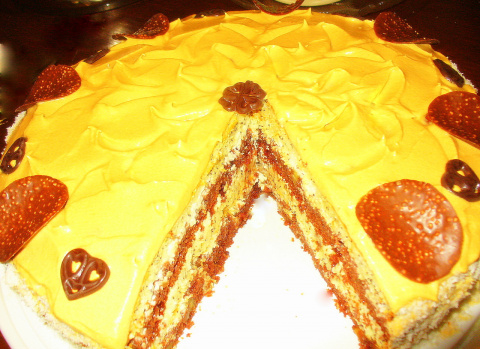 Торт на день рождение !!.Фото -Рецепт Olga Dell