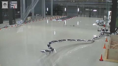 Инженеры из Японии продемонстрировали робота из воздушных шариков