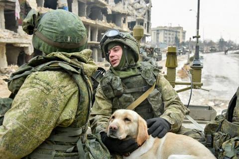 Российские военные рассказал…