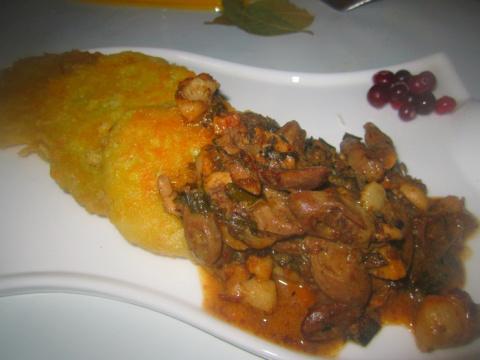 Картофельные оладьи по -Венгерски
