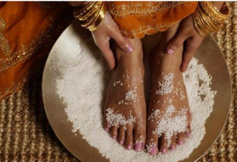 Ритуал очищения солью
