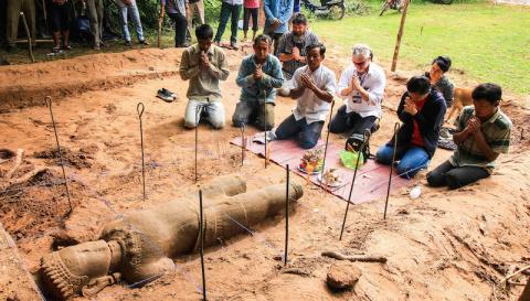 В Камбодже археологи нашли д…