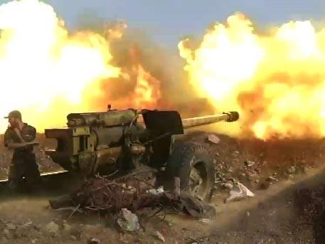 Сирийская армия перешла в наступление под Алеппо