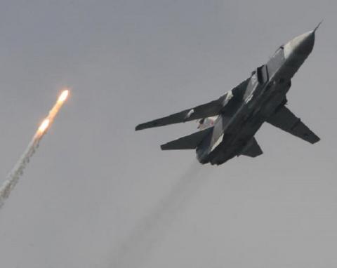 Су-24 подвергся зенитному об…