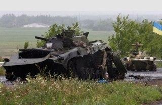 Как война за Донбасс виделас…