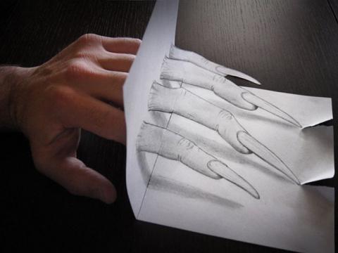 Лучшие карандашные 3D рисунки