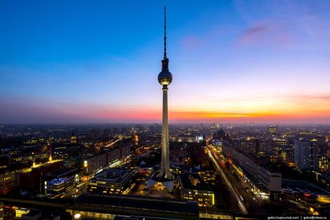 ПУТЕШЕСТВИЯ. Берлин с высоты