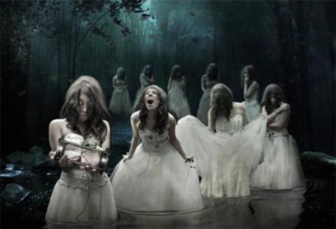 Самые страшные привидения