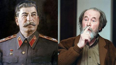 Спор сталиниста с солженисто…