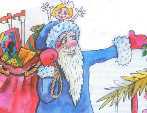 Весёлые новогодние загадки с подвохом