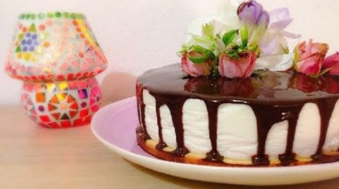 Идеальный йогуртовый торт с …