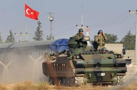 Турецкая сухопутная операция…