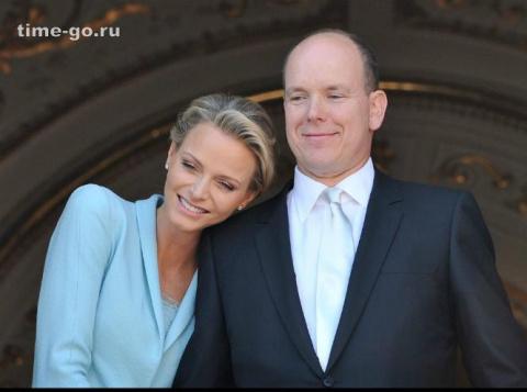 Счастливы вместе: князь Альбер и княгиня Шарлен