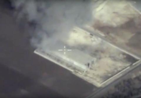 Российские ВКС на видео бомб…