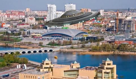Очевидцы сняли НЛО над Челябинском