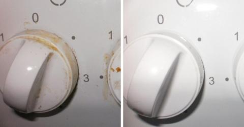 Бюджетное аптечное средство поможет быстро очистить ручки плиты от жира