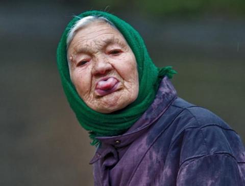 Как бабуся таксиста кинула