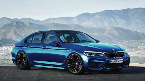 Новый BMW M5 2018 представили в Сети