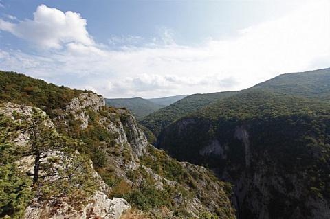 Большой каньон Крыма, Россия