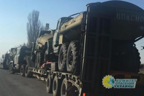 Украина гонит в АТО радиоакт…