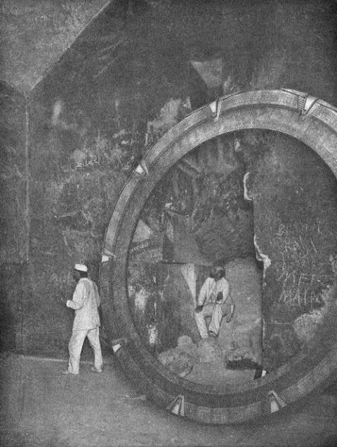 Звездные врата в Багдаде?