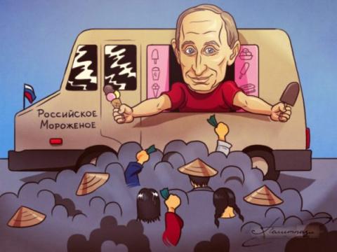 Фактор Путина: японцы смели …