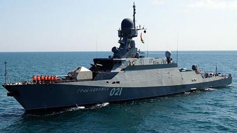 Латвия усмотрела у своих границ российский военный корабль