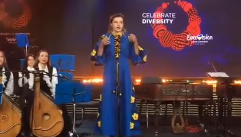 """В Интернете высмеяли жену Порошенко на открытии """"Евровидения"""""""