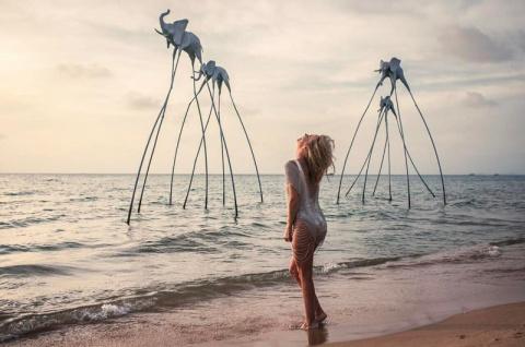 Пляжные снимки Глюкозы взбесили подписчиков