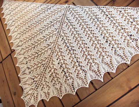 Шаль Зетор / zetor shawl