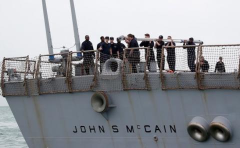 В аварии «Джона Маккейна» подозревают китайских хакеров, утверждает The Times